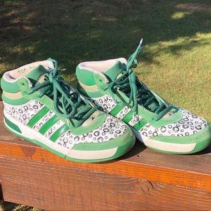 adidas Top Ten Boston Celtics NBA Shoes Size 9.5